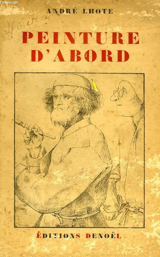 PEINTURE D'ABORD