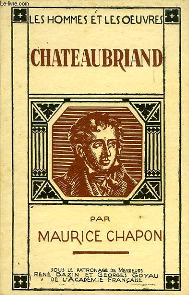 CHATEAUBRIAND, PAGES CHOISIES