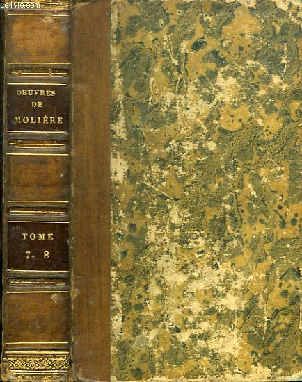 OEUVRES DE MOLIERE, TOMES VII-VIII