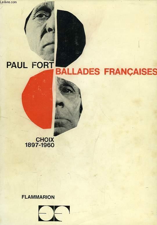 BALLADES FRANCAISES, 1897-1960