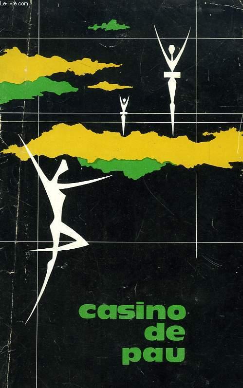 CASINO DE PAU, PROGRAMME AVRIL 1963