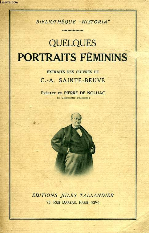 QUELQUES PORTRAITS FEMININS