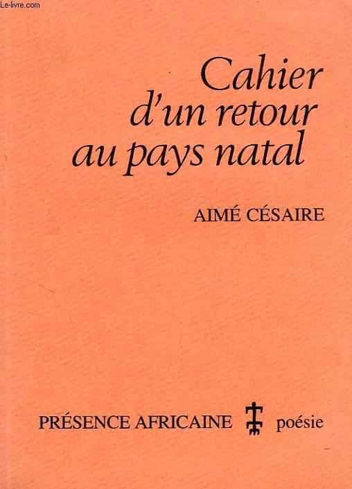 CAHIER D'UN RETOUR EN PAYS NATAL