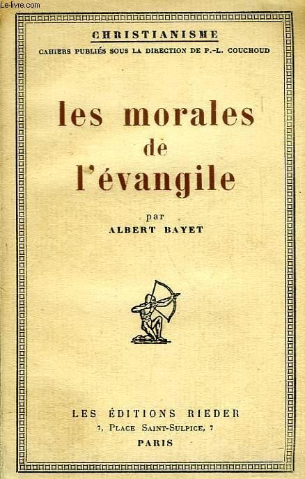 LES MORALES DE L'EVANGILE