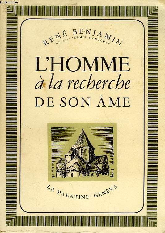 L'HOMME A LA RECHERCHE DE SON AME