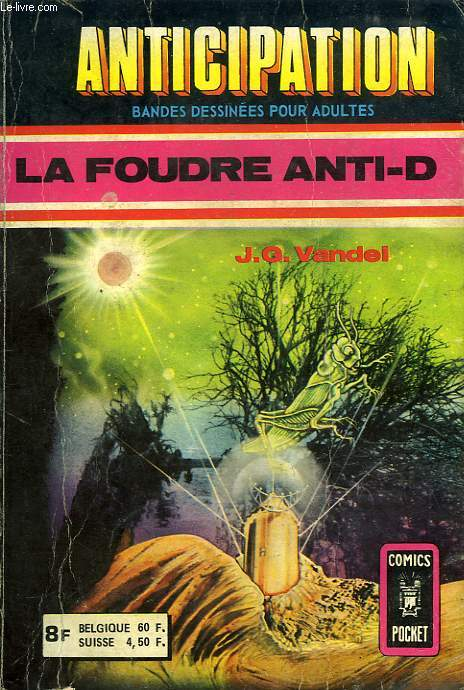 ANTICIPATION, RECUEIL N° 3072, LA FOUDRE ANTI-D