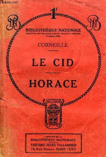 LE CID, HORACE