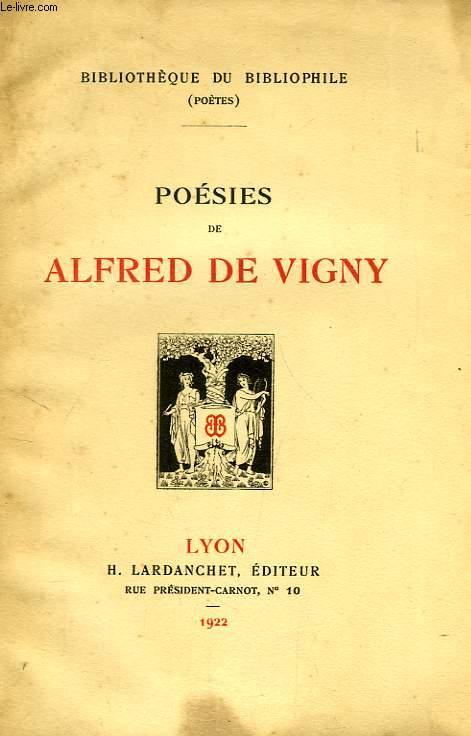POESIES DE ALFRED DE VIGNY