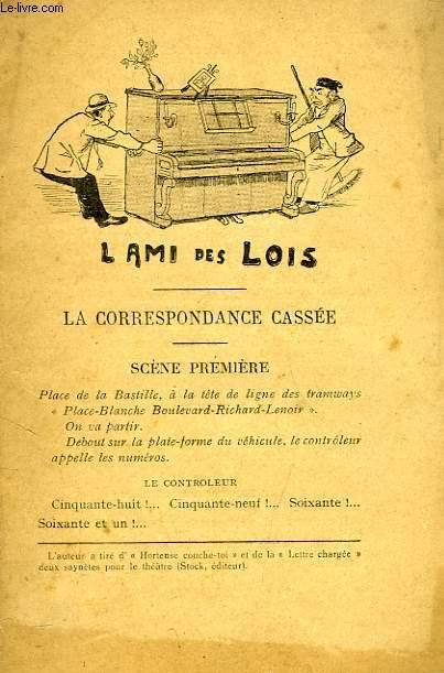 L'AMI DES LOIS