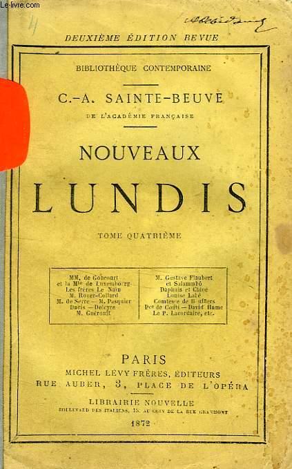 NOUVEAUX LUNDIS, TOME IV