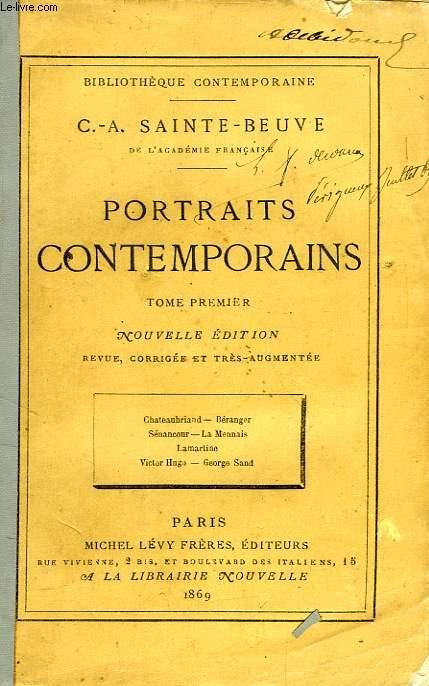 PORTRAITS CONTEMPORAINS, TOME I