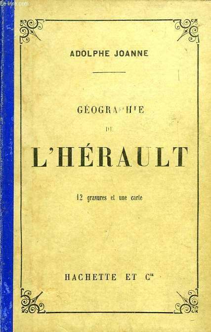 GEOGRAPHIE DU DEPARTEMENT DE L'HERAULT