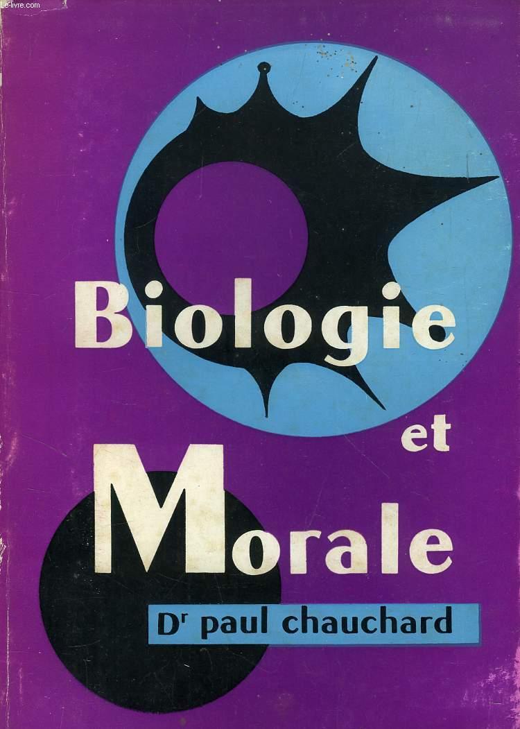 BIOLOGIE ET MORALE