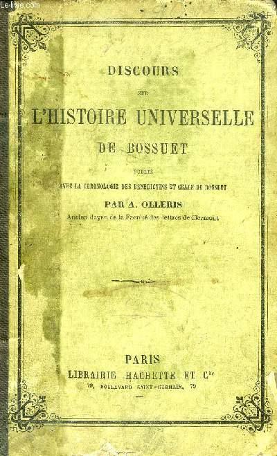 DISCOURS SUR L'HISTOIRE UNIVERSELLE DE BOSSUET