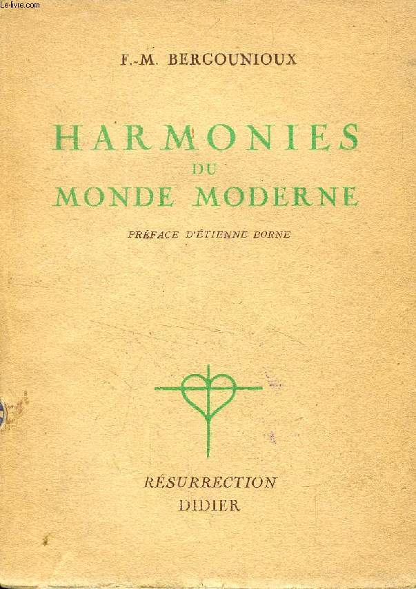 HARMONIES DU MONDE MODERNE