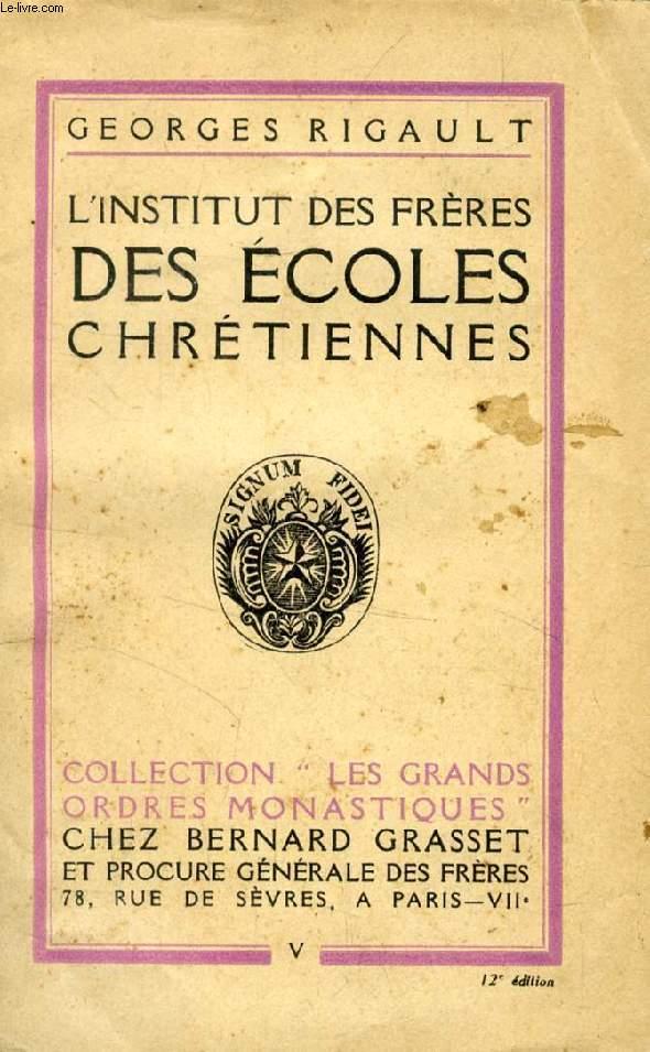 INSTITUT DES ECOLES CHRETIENNES