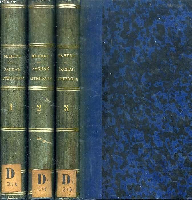 SACRAE LITURGIAE PRAXIS, JUXTA RITUM ROMANUM, 3 TOMES