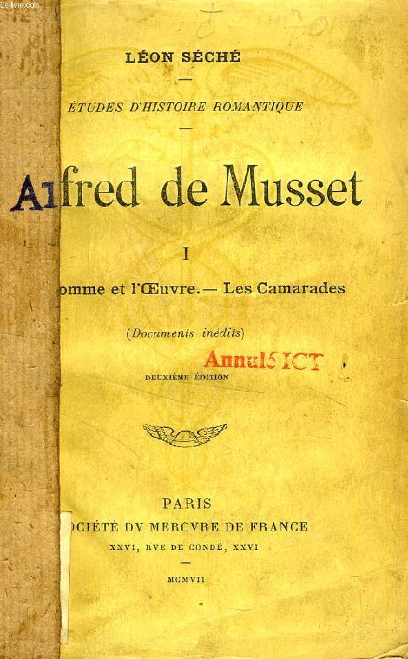 ALFRED DE MUSSET, 2 TOMES