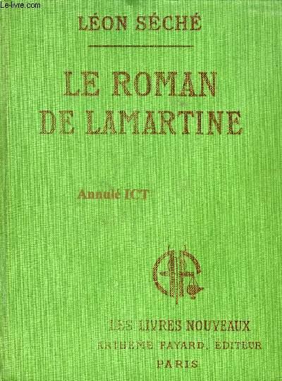 LE ROMAN DE LAMARTINE