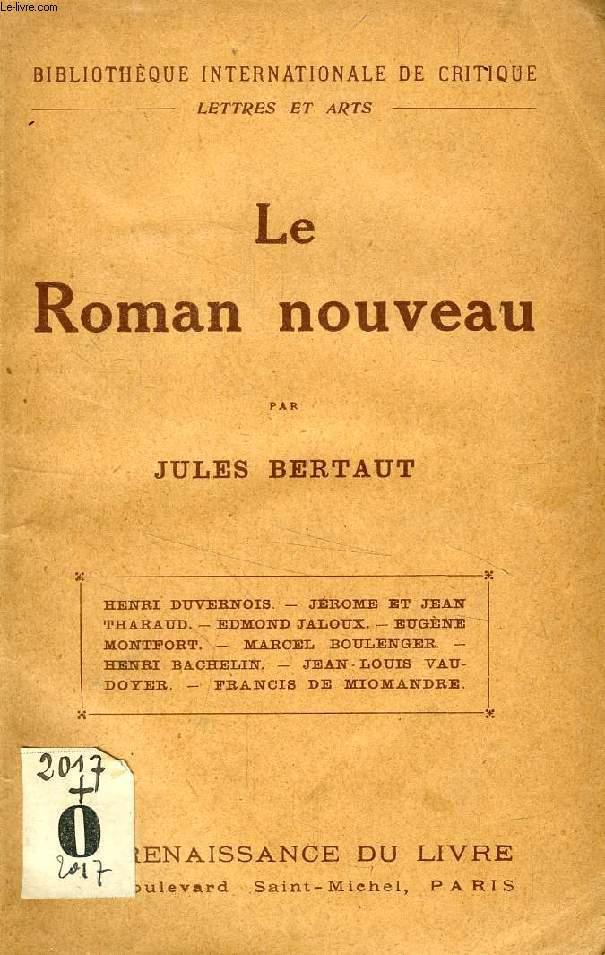 LE ROMAN NOUVEAU