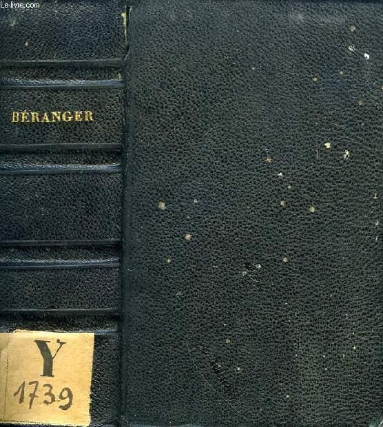 CHANSONS DE P.-J. DE BERANGER, SUPPLEMENT