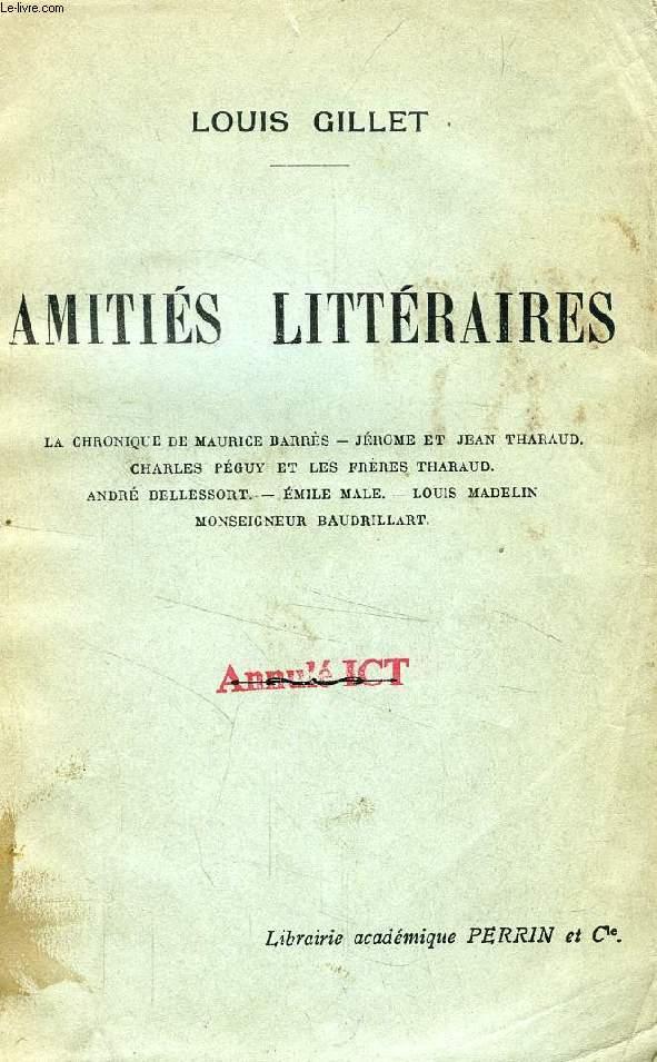 AMITIES LITTERAIRES