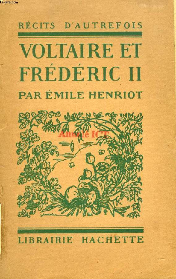 VOLTAIRE ET FREDERIC II