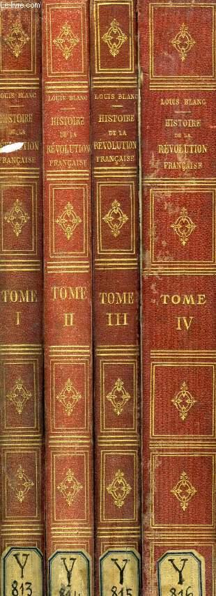 HISTOIRE DE LA REVOLUTION FRANCAISE, 4 TOMES