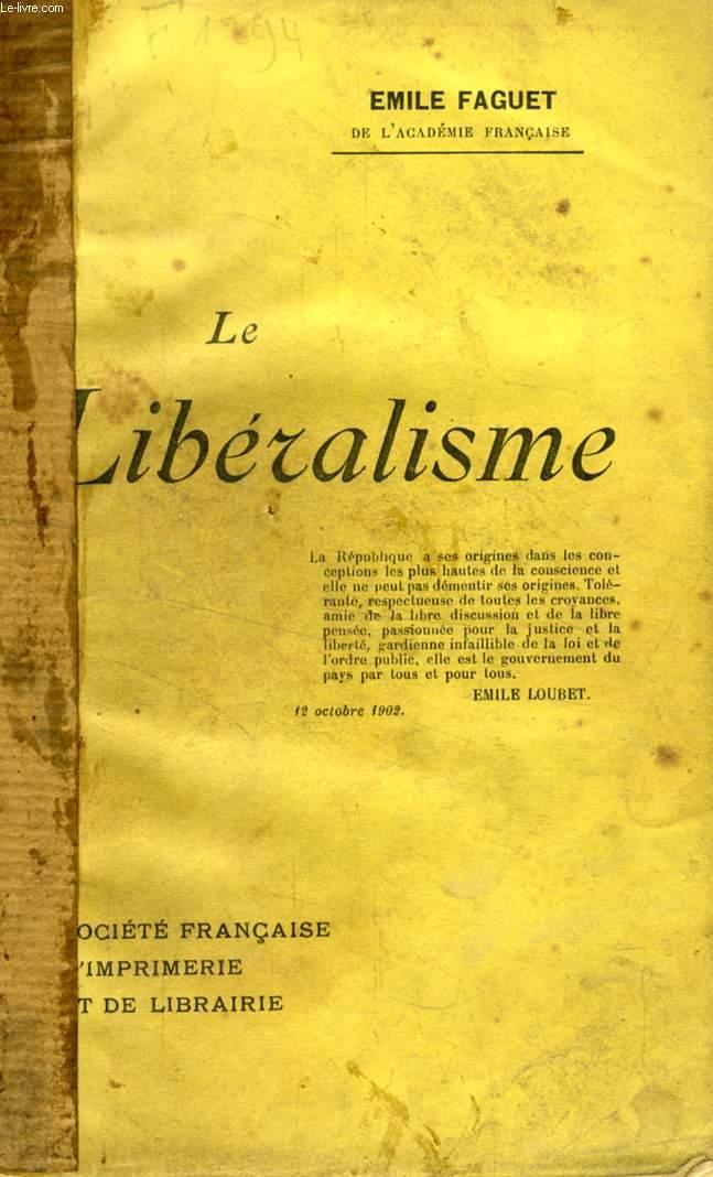 LE LIBERALISME
