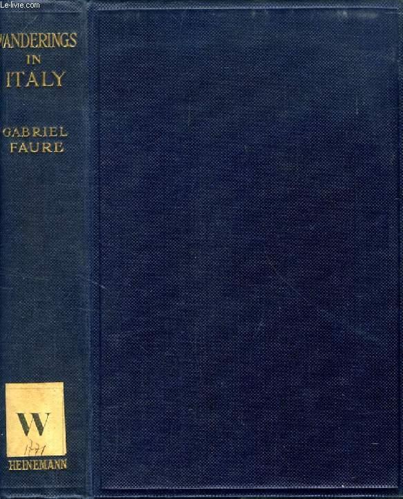 WANDERINGS IN ITALY