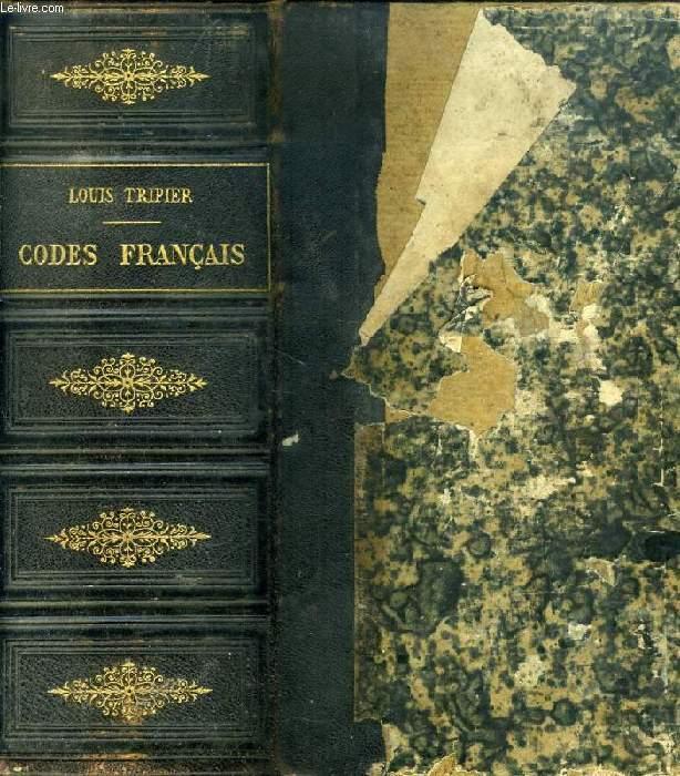 LES CODES FRANCAIS COLLATIONNES SUR LES TEXTES OFFICIELS