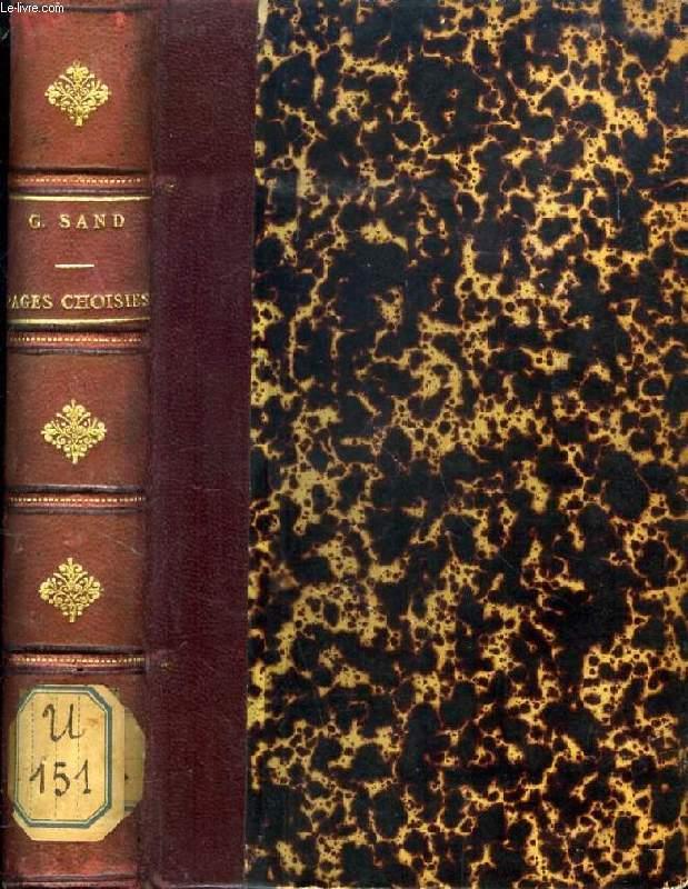 PAGES CHOISIES DES GRANDS ECRIVAINS, GEORGE SAND