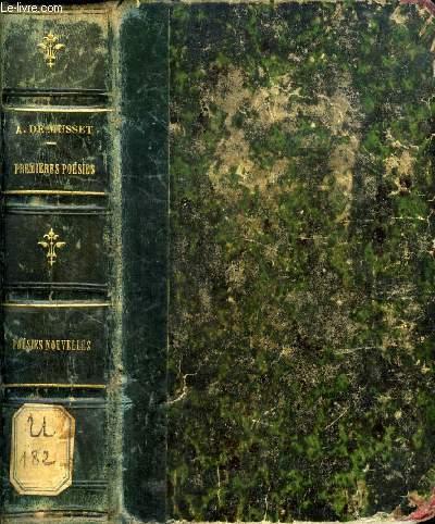 PREMIERES POESIES DE ALFRED DE MUSSET, 1829-1835 / POESIES NOUVELLES DE ALFRED DE MUSSET, 1836-1852
