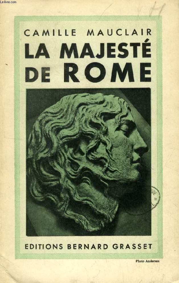LA MAJESTE DE ROME