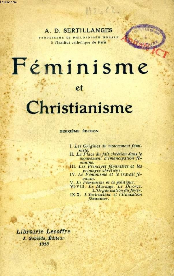 FEMINISME ET CHRISTIANISME