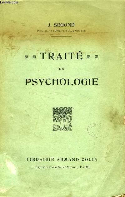 TRAITE DE PSYCHOLOGIE