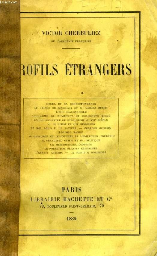 PROFILS ETRANGERS