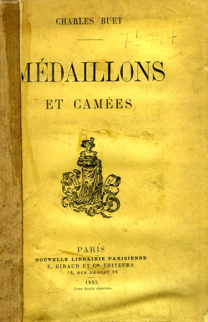 MEDAILLONS ET CAMEES