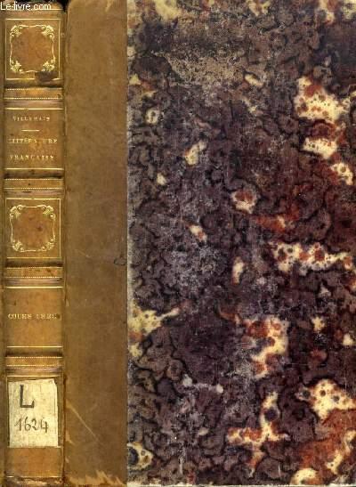 COURS DE LITTERATURE FRANCAISE, TABLEAU DU XVIIIe SIECLE, 2e PARTIE