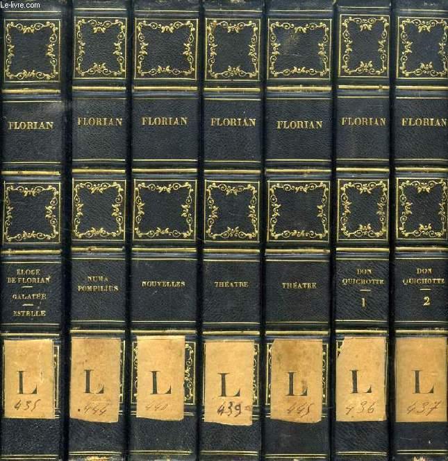 OEUVRES DE FLORIAN, 12 VOLUMES