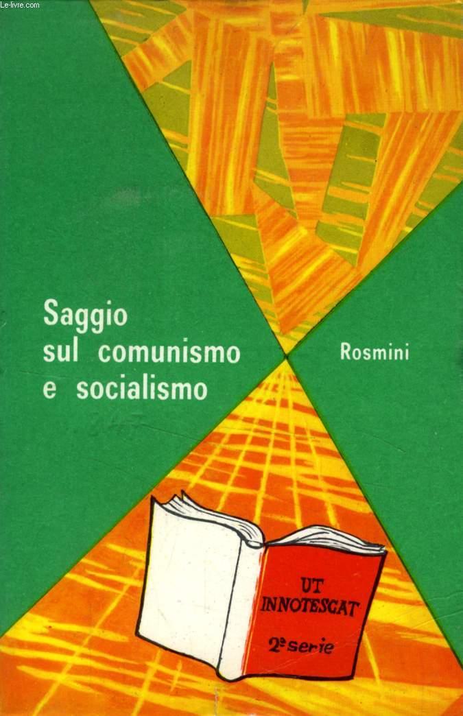 SAGGIO SUL COMUNISMO E SOCIALISMO