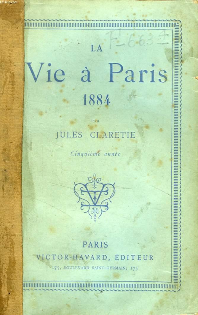 LA VIE A PARIS, 1884, 5e ANNEE