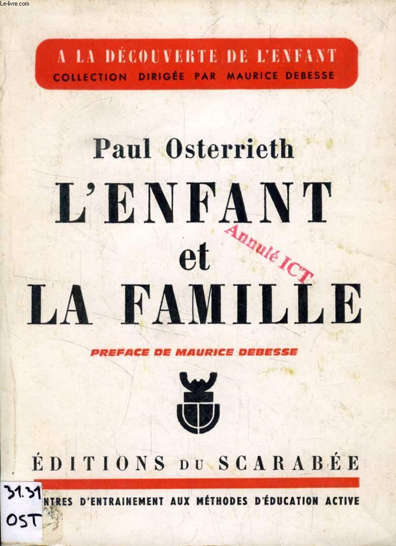 L'ENFANT ET LA FAMILLE