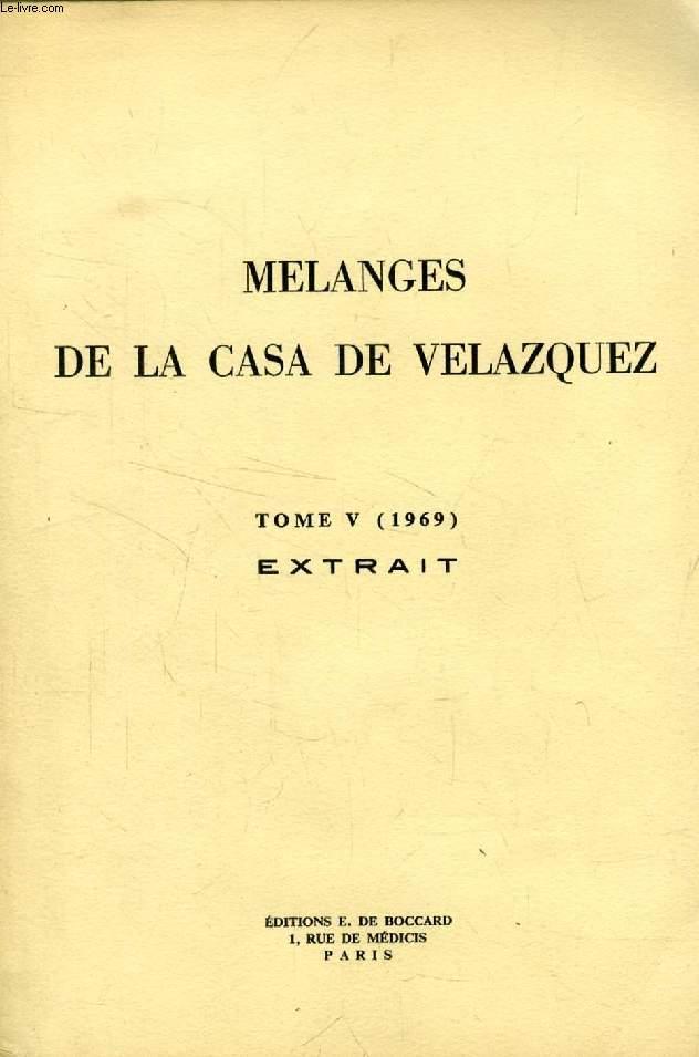 MELANGES DE LA CASA VELAZQUEZ, TOME V (1969), EXTRAIT, SUR 'EL DIVINO NARCISO' DE SOR JUANA INES DE LA CRUZ