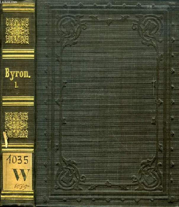 THE WORKS OF LORD BURON, VOL. I