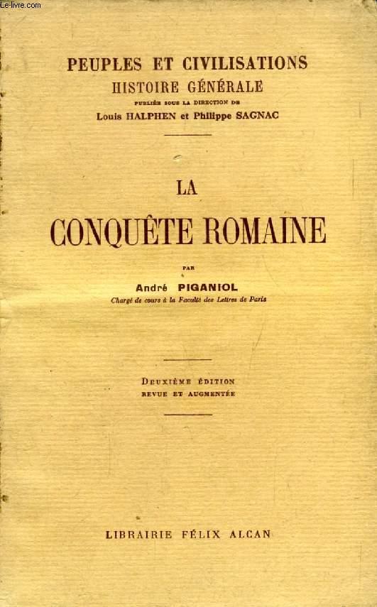 LA CONQUETE ROMAINE