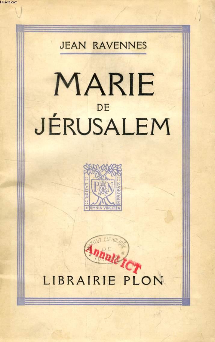 MARIE DE JERUSALEM