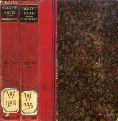 VANITY FAIR, 2 VOLUMES, A NOVEL WITHOUT A HERO