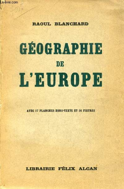 GEOGRAPHIE DE L'EUROPE