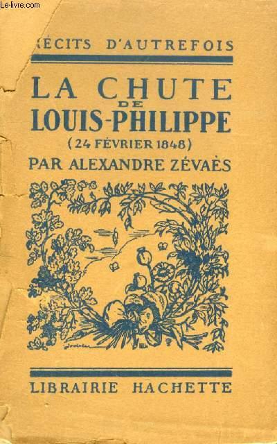 LA CHUTE DE LOUIS-PHILIPPE (24 FEV. 1848)